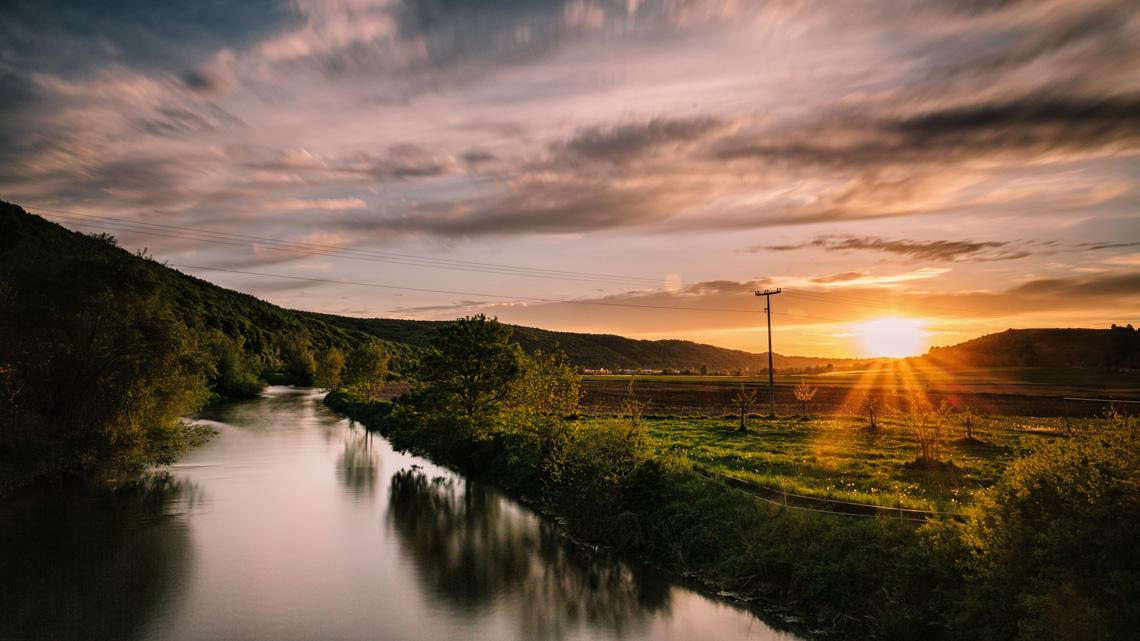 Sonnenuntergang in Landershofen - Stefan Schramm Fotografie