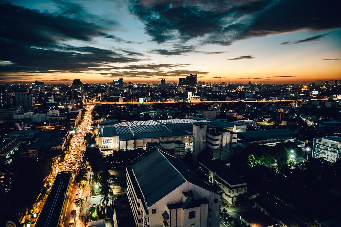 Eine Nacht in Bangkok
